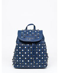 Patrizia Pepe Backpack With Studs - Lyst