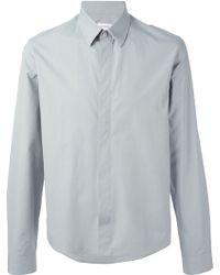 Jil Sander Concealed Fastening Shirt - Lyst