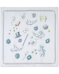 Olympia Le-Tan Square Scarf - Lyst