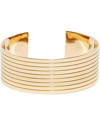 Jem - Jem Women's Saqqara Cuff From Aw15 In Yellow Gold - Lyst