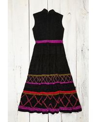 Free People Vintage Chenille Dress - Lyst