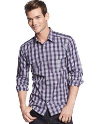 Hugo Boss Hugo Ellipo Plaid Shirt - Lyst