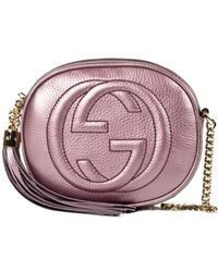 Gucci Pink Soho Small - Lyst