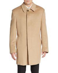 Lauren by Ralph Lauren - Regular-fit Wool-blend Coat - Lyst