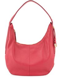 Halston Heritage Leather Slouch Hobo Bag - Lyst