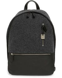 Skagen - 'kroyer' Felted Wool & Coated Canvas Backpack - Lyst