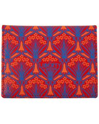 Liberty London Red Travel Card Holder - Lyst