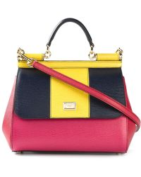 Dolce & Gabbana Large 'Sicily' Tote - Lyst