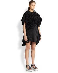 Comme des Garçons 3D Ruffle Dress - Lyst