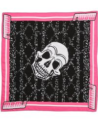 Marc By Marc Jacobs Skull Bandana Knockout Pink Multi - Lyst