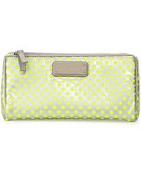 Marc By Marc Jacobs Techno Mesh Prism Cosmetic Bag Opal Gray Multi Opal Grey Multi - Lyst