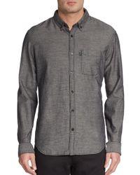 Burberry Brit Adken Cotton-Blend Sportshirt - Lyst