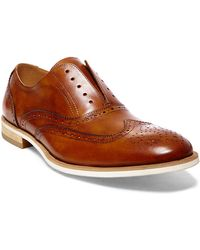 Steve Madden - Romah Leather Brogue Oxfords - Lyst