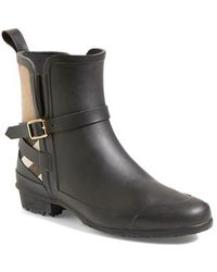 Burberry Women'S 'Riddlestone' Rain Boot - Lyst