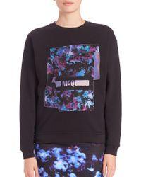 McQ Alexander McQueen | Printed Logo Sweatshirt | Lyst