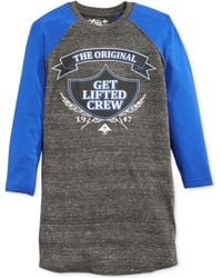 LRG Get Lifted Raglan T-shirt - Lyst