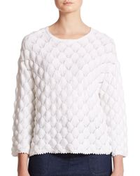 See By Chloé | Lace Stitch Sweater | Lyst