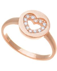 Annabella Lilly - Sterling Silver Ring - Lyst