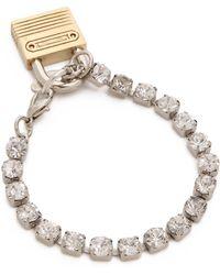 Rodarte Bracelet with Padlock - Lyst