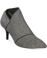 Adrianna Papell - Heather Evening Asymmetrical Ankle Booties - Lyst