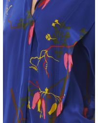 Vivienne Westwood Anglomania - Firefly Mayan Orchid-Print Jumpsuit - Lyst