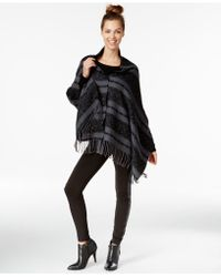 BCBGeneration - Solid Button Down Oversized Wrap - Lyst