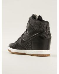 Nike Dunk Sky Hitop Sneakers - Lyst