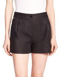 Diane von Furstenberg Hattie Stretch-Cotton Shorts - Lyst