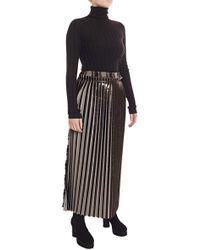 Damir Doma Richea Long Pleated Skirt - Lyst