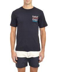 Saturdays Surf NYC Saturdays T-Shirt - Lyst
