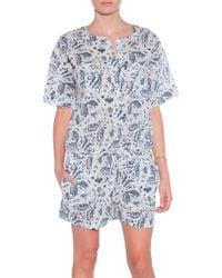 Masscob Cotton Jumpsuit - Lyst
