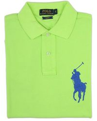 Ralph Lauren Blue Label Lime Green Polo Shirt - Lyst