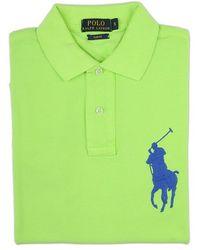 Ralph Lauren Blue Label Lime Green Polo Shirt green - Lyst