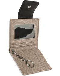 Kenneth Cole Reaction Must Haves Tab Key Ring Wallet black - Lyst