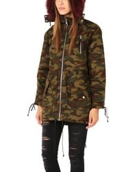 Textile Elizabeth and James | Johnnie Parka | Lyst