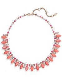 Kent & King - Crystal Collar Necklace - Lyst