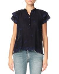 Antik Batik Short Sleeve Top - Romantic1Tee - Lyst