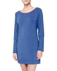 La Perla Studio Elodie Lace-back Sleep Shirt - Lyst