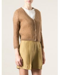 Ermanno Scervino Buttoned Cardigan - Lyst