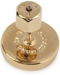 Marc By Marc Jacobs - Gold Tone Enamel Stud Earrings - Lyst