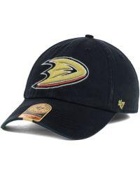 47 Brand Anaheim Ducks Franchise Cap - Lyst