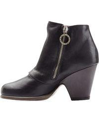 Fiorentini + Baker Sofiel Sham Leather Boots black - Lyst