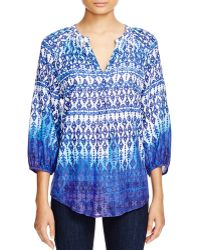 Beach Lunch Lounge | Jamie Ombré Print Blouse | Lyst