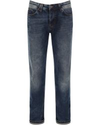 Bench - Wahwah Medium Wash Mid Rise Jeans - Lyst