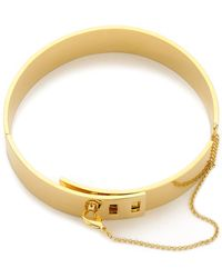 Eddie Borgo - Safety Chain Choker - Gold - Lyst