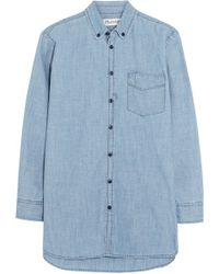 Madewell Cotton-Chambray Shirt - Lyst