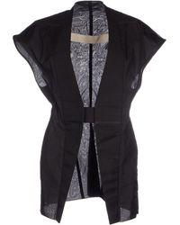 Rick Owens Full-Length Jacket - Lyst