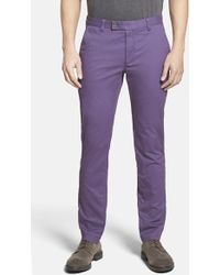 Ted Baker 'Sorcor' Slim Fit Chinos - Lyst