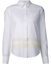 Sonia Rykiel Bandage Button Down Shirt - Lyst