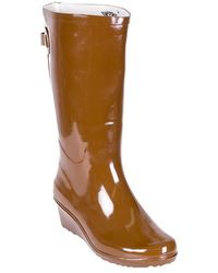 Forever Young - Tall Wedge Rain Boots - Lyst